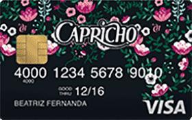 Cartão Pré-Pago Mesada CAPRICHO Visa