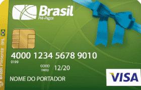 Cartão Pré-Pago Presente Visa