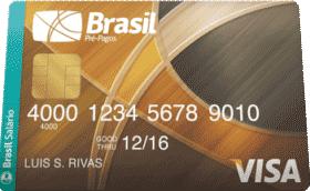 Cartão Pré-Pago Remuneração Visa