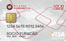 Cartão Pré-Pago Sócio Furacão Visa