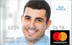 Cartão Pré-Pago Vale-Compras Recarregável Mastercard