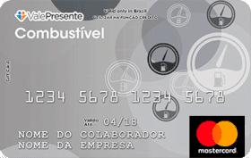 Cartão Pré-Pago Vale Presente Combustível Mastercard