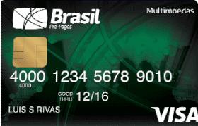 Cartão Pré-Pago VISA TravelMoney Classic