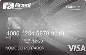 Cartão Pré-Pago VISA TravelMoney Platinum