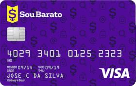 Cartão de Crédito Sou Barato Visa