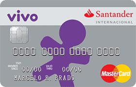 Cartão Vivo Santander Mastercard Internacional