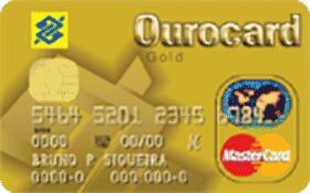 Cartão de Crédito Ourocard Banco do Brasil MasterCard Gold