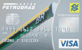 Cartão de Crédito Petrobras Banco do Brasil Visa International