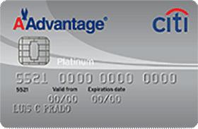 Cartão de Crédito Cartão Citi / AAdvantage® MasterCard Platinum