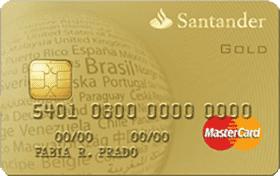 Cartão Santander MasterCard® Gold