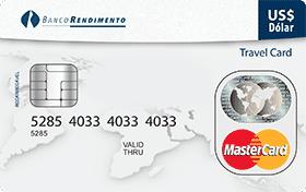 Cartão Pré-Pago Viagem Rendimento Travel Card MasterCard